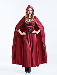 Gothic Little Red Riding Hood costume Sexy Halloween Costumes For Women Fantasy Game Uniforms Fancy Dress