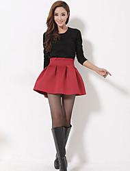 Espace coton tutu jupe buste jupe sauvage parapluies jupe jupe plissé jupe jambe jupe