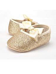 Для детей Дети На плокой подошве Обувь для малышей Лак Ткань Весна Осень Свадьба Повседневные Для праздника Для вечеринки / ужинаОбувь