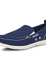 Women's Sneakers Spring Comfort Canvas Casual Light Blue Light Grey Navy Blue