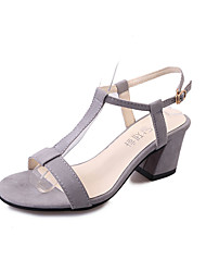 Women's Sandals Summer Comfort PU Outdoor Low Heel