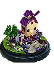 Casa de Boneca Hobbies de Lazer Circular Madeira