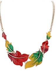Africa Euramerican Long Choker Pendant Sweater Chain Necklace Colorful Statement Jewelry Women Office Lady Jewelry