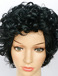 Cosplay Wigs Fashion Short Kinky Curly Capless Wig High Quality Human Hair For Black Women