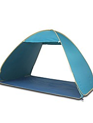 3-4 persons Tent Single Automatic Tent One Room Camping Tent Ultraviolet Resistant-Camping Beach Traveling