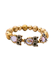 Women's Strand Bracelet Fashion Alloy Animal Shape Gold Jewelry For Special Occasion Christmas Gifts 1pc