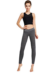 Yoga Pants Tights Breathable Soft Comfortable Natural Stretchy Sports Wear Women's Yoga Exercise & Fitness Leisure Sports Running