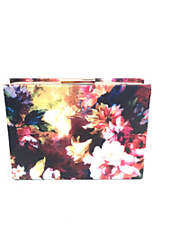 Women's  Fancy Fashion Evening Party Wedding Clutch Bag with Chain