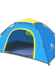 2 persons Tent Single Automatic Tent One Room Camping Tent Fiberglass OxfordWaterproof Windproof Ultraviolet Resistant Foldable