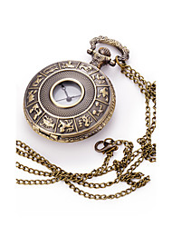Small Pocket Watch Hollow Digital Vintage Necklace Pocket Watch