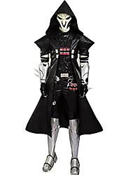 Inspirado por overwatch Cosplay Animé Disfraces de cosplay Trajes Cosplay Chaqueta Cinturón Para
