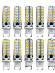 5W G9 G4 G8 GY6.35 Luci LED Bi-pin T 80 SMD 4014 400-500 lm Bianco caldo Luce fredda Intensità regolabile AC110 AC220 V 10 pezzi