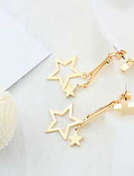 Exaggerated Personality Earrings Star Drop Earrings