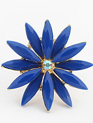 Euramerican Classic Flower Ring Women'sDaily Cuff Rings Movie Jewelrys