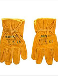 Shida Glove XL All Leather Gloves Industrial Protection Work Gloves