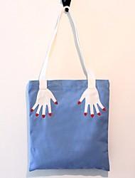 Feminino Lona Ao Ar Livre Bolsa de Ombro Preto Azul Marinho Azul