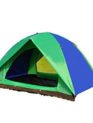 3-4 personnes Tente Unique Tentes Familiales Une pièce Tente de camping 1000-1500 mm Fibre de carbone Etanche Résistant aux ultraviolets-
