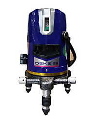 Deke® 2 Line 520nm Infrared Blue Laser Marking Instrument Leveling Line Laser