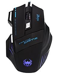 Проводная оптическая высокоточная игровая мышь 7 7 bottons 7200dpi, совместимая с win xp / vista / win 7/8 / me / 2000 / mac os