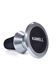 KAWELL Universal Magnetic Phone Car Mount Aluminum Air Vent Cell Phone Holder 360 Degree Adjustable for iPhone Samsung