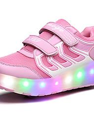 Mädchen-Sportschuhe-Outddor Lässig Sportlich-Tüll-Niedriger Absatz-Light Up Schuhe Luminous Schuh-