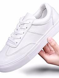 Damen-Sneaker-Lässig-PUKomfort-Weiß