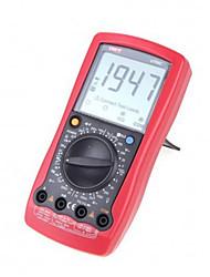 Стандартный цифровой мультиметр ac dc сопротивление вольтметра новый портативный стандарт dmm uni-t ut58c