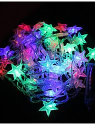 3W W Leuchtgirlanden lm <5V 4 m 40 Leds Warmweiß Weiß Blau Rosa Mehrfarbig