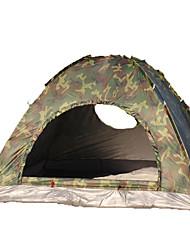 3-4 Pessoas Tenda Único Tenda Dobrada Um Quarto Barraca de acampamento 1000-1500 mm Fibra de Vidro OxfordÁ Prova de Humidade Prova de