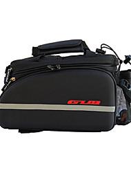 Bolsa de Bicicleta 10-35LMala para Bagageiro de Bicicleta/Alforje para BicicletaLista Reflectora Camurça de Vaca á Prova-de-Choque