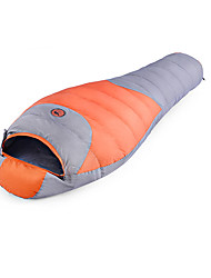 Schlafsack Mumienschlafsack Einzelbett(150 x 200 cm) -25-15-0 Enten Qualitätsdaune75 Camping Draußen warm halten 自由之舟骆驼