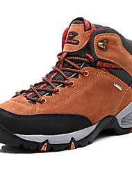Mountaineer Shoes Sneakers Hiking Shoes Men's Anti-Slip Anti-Shake/Damping Breathable Sweat-Wicking Massage Outdoor High-Top Fabric