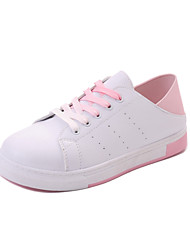 Feminino-Rasos-Buraco Shoes-Rasteiro--Courino-Ar-Livre Casual