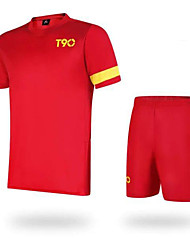 Kid's Soccer Clothing Suits Quick Dry Breathable Summer Polyester Football/Soccer