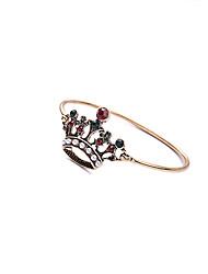 Mulheres Bracelete Moda Liga Formato Coroa Jóias Para Halloween Presentes de Natal 1peça