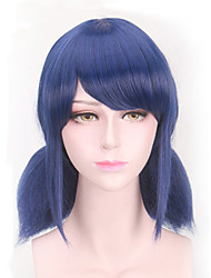 Lady Bug Blue Short Cosplay Wig