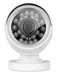 Annke® 720p 1.0m durable toute saison ip66 caméra étanche avec ir nuit vison extérieur intérieur