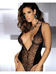 Robes Corset Vêtement de nuit Femme,Sexy Nylon