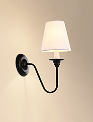 O recurso de acabamento e14 rústico / alojamento óxido preto para parede luz protectionambient olho arandelas luz parede