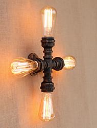 Ac 110-130 ac 220-240 160 e26 / e27 recurso de pintura retro do país para o mini braço do estilo swing incluído luz ambiente luz