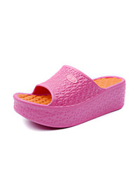 Women's Slippers & Flip-Flops Summer Creepers PU Casual Creepers