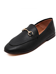 Women's Loafers & Slip-Ons Summer Light Soles PU Casual Low Heel Blushing Pink Black