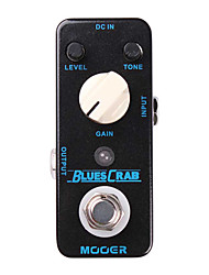 Mooer Blues Crab Blues Drive Guitar Effect Pedal  Classic Blues Overdrive Sound Characteristic Full Metal Shell True Bypass