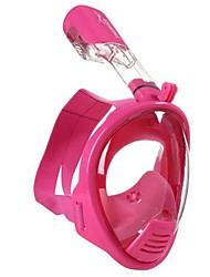 Diving Masks Protective Diving / Snorkeling Neoprene Fibre Glass Blue Pink
