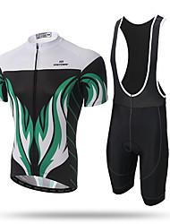 Xintown® дорожный велосипед нагрудник и трикотажные велосипедные нагрудники брюки набор для мужчин короткий рукав