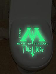 Стикеры стены стикеры стены стикеры стиль туалет украшения ПВХ стены стикеры
