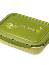 Eco Friendly Cute Lunch Box Kid Bento Box for School