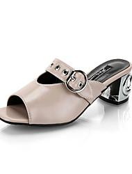 Damen-Sandalen-Lässig-PU-Keilabsatz-Komfort-