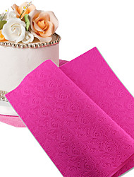 New Arriv Fondant Mould Lace Mat Impression Mats Silicone Lace Mat Cake Lace Mold Silicone Sugar Lace Mat Decorative