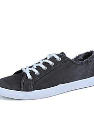 Herren-Sneakers Frühjahr Herbst Komfort PU lässig blau grün grau